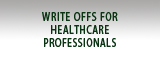 Write Offs for Healthcare Professionals